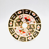 """Royal Crown Derby, Traditional Imari Pattern, Plate, Salad, 7 1/8"""" Wide"""