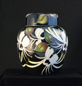 Moorcroft Japanese Honeysuckle Jar - 769/6 ON SALE