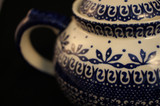 """Polish Pottery Afternoon Teapot in """"Blue On White"""""""