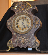 Newhaven Cast Iron Clock
