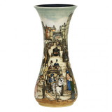 Moorcroft Vase Times Gone By - 364/20 by Paul Hilditch