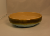 Medalta, Vintage, Light Green, Brown, Redcliffe, Alberta, Bowl