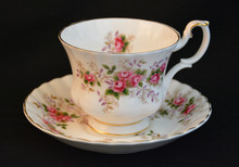 Royal Albert Lavender Rose - Cup and Saucer