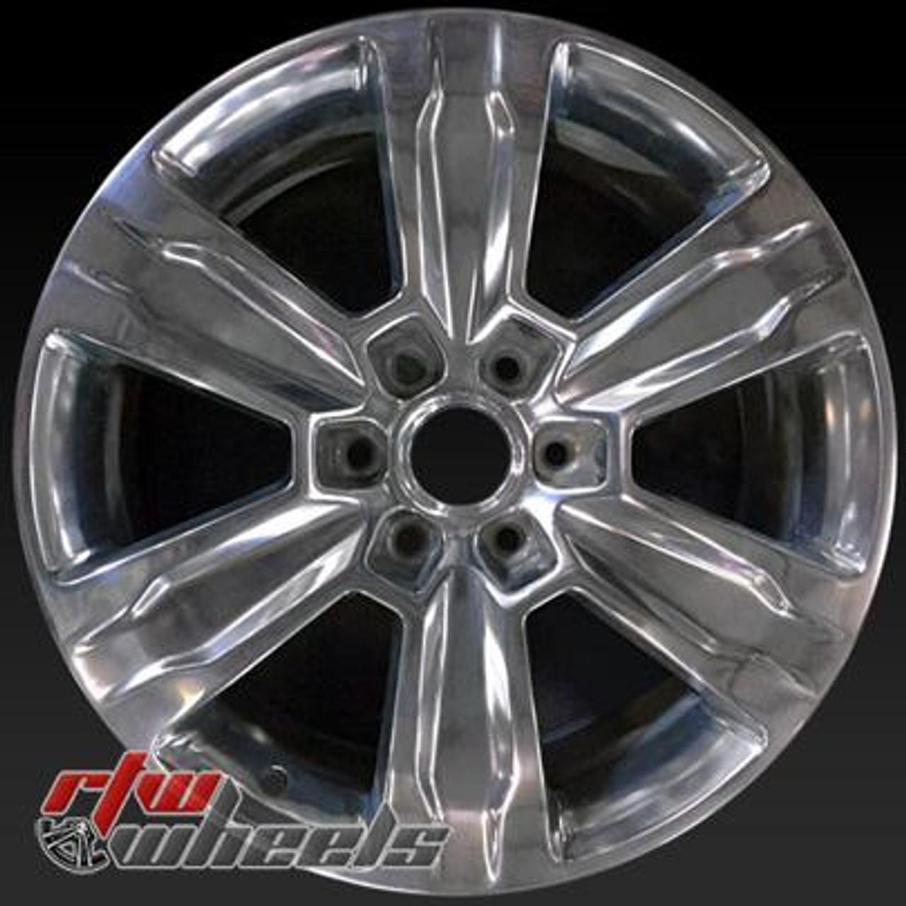 Ford F150 Rims >> 20 Ford F150 Oem Wheels 2015 2017 Polished Rims 10004
