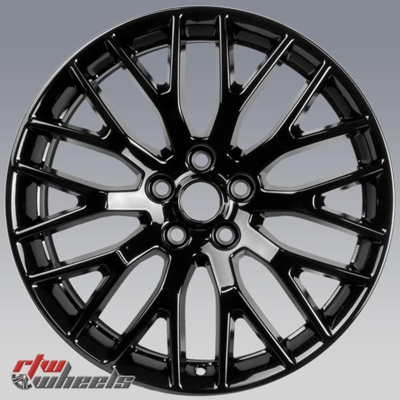 19 Ford Mustang Oem Wheels 2015 2017 Black Alloy Factory Rims 10036