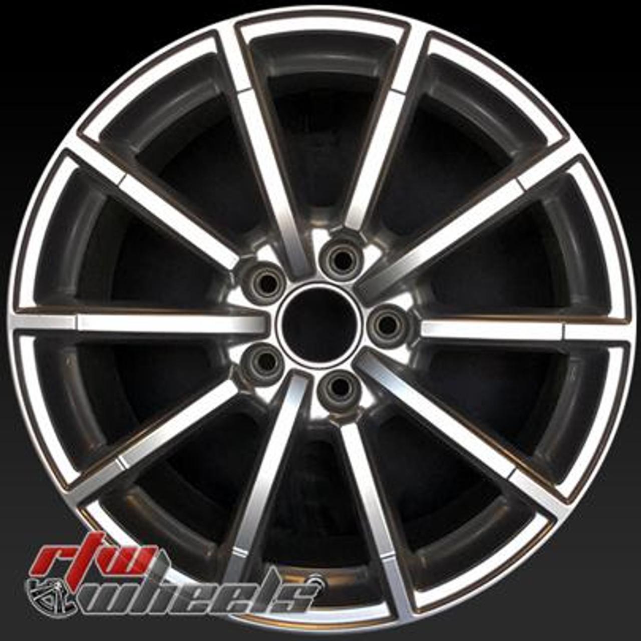 18 Audi A4 Wheels For Sale 2015 2016 Silver Rims 58956