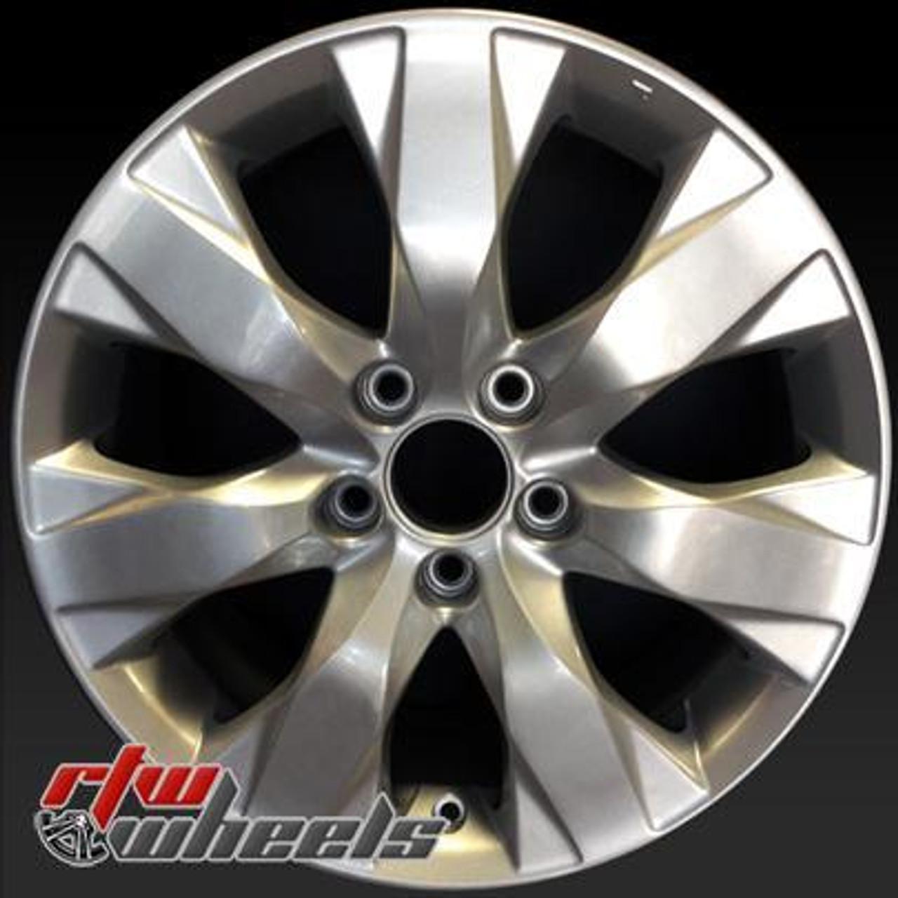Honda Factory Rims >> Honda Accord Wheels For Sale 2008 2010 17 Silver Rims 63934