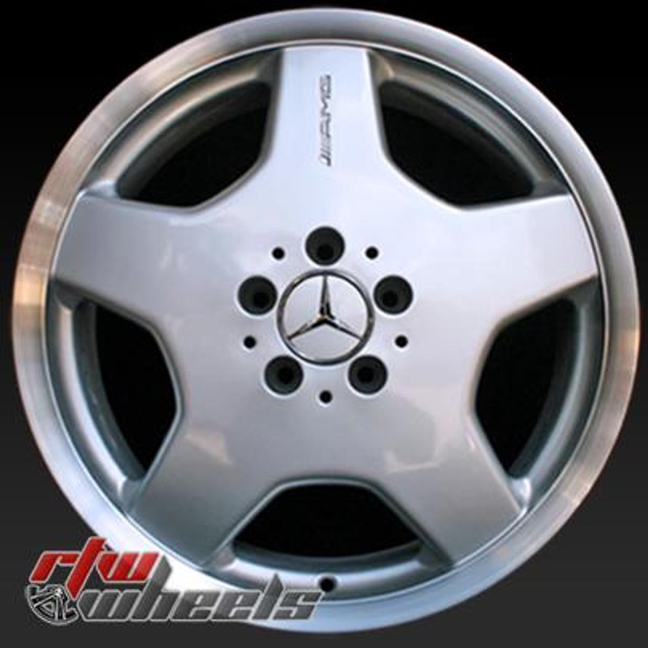 Mercedes Benz Rims >> Mercedes Benz Wheels For Sale 2000 2004 18 Rear Amg Silver Rims 65207