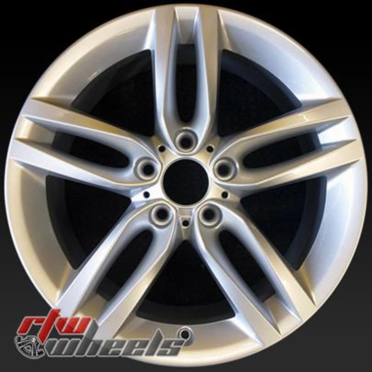 18 Bmw 2 Series Oem Wheels 2014 2017 Silver Alloy Factory Rims 86127