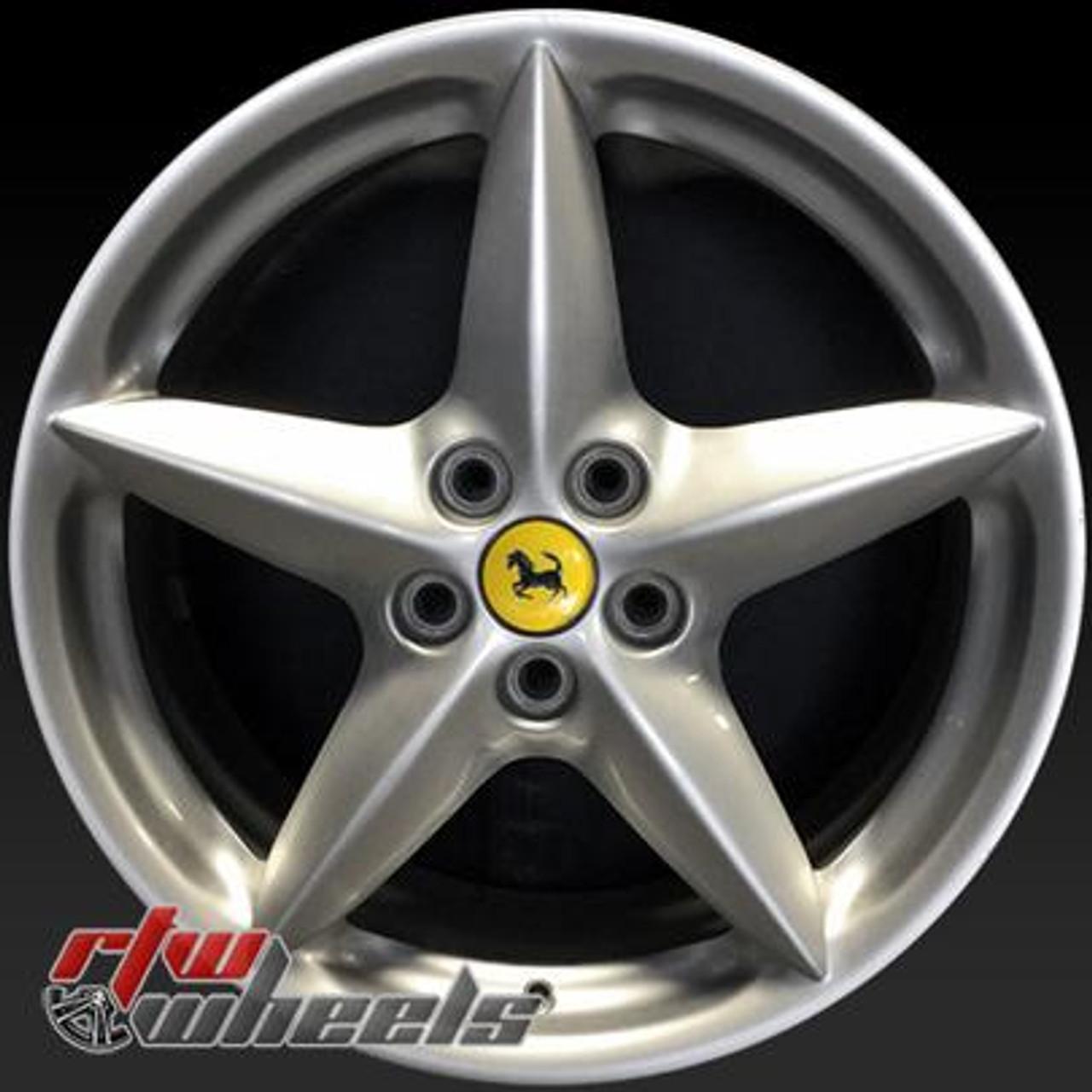 18 Ferrari 360 Modena Wheels For Sale 2000 2002 Silver Rims 98432