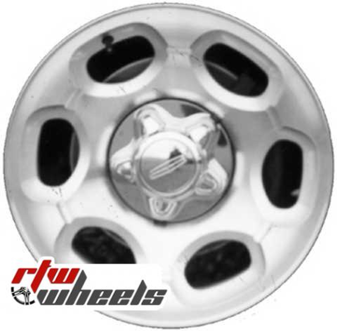 lincoln navigator wheels 2000 2002 17 silver rims 3389 rtw wheels