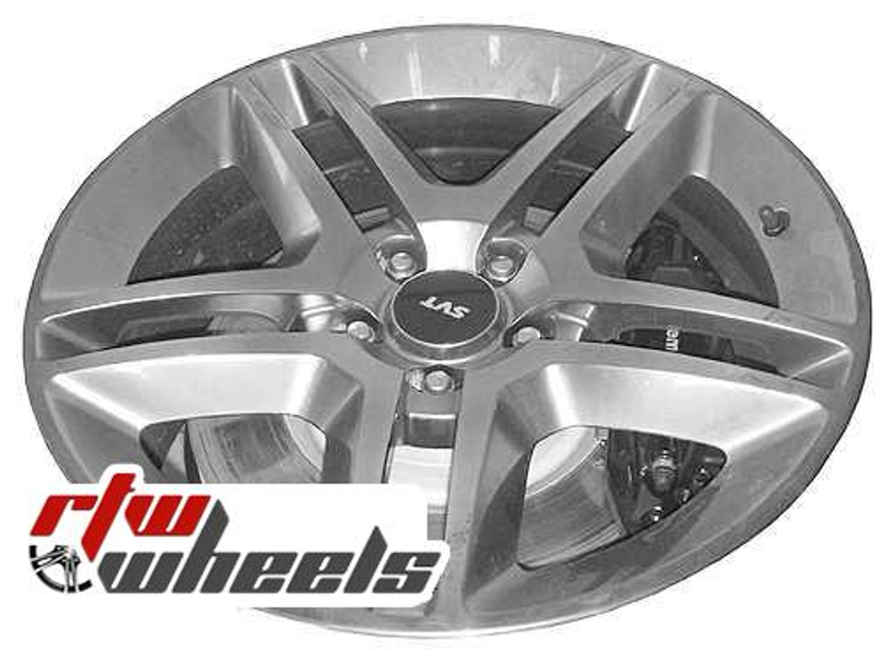Ford Mustang Wheels 2010 2012 19 Hypersilver Rims 3814