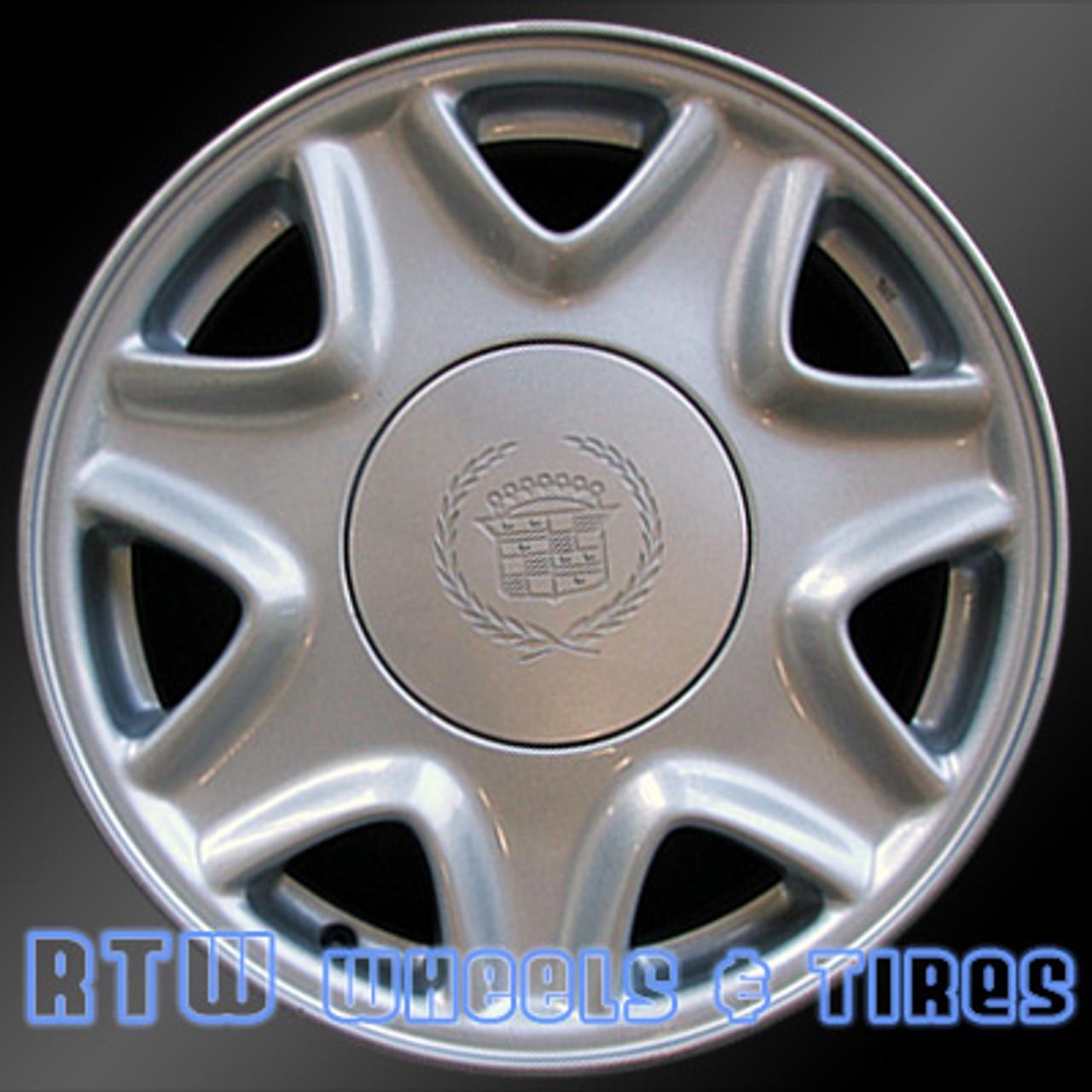 cadillac wheels for sale el dorado seville 95 02 silver rims 4522 cadillac wheels for sale el dorado seville 1995 2002 16 silver rims 4522