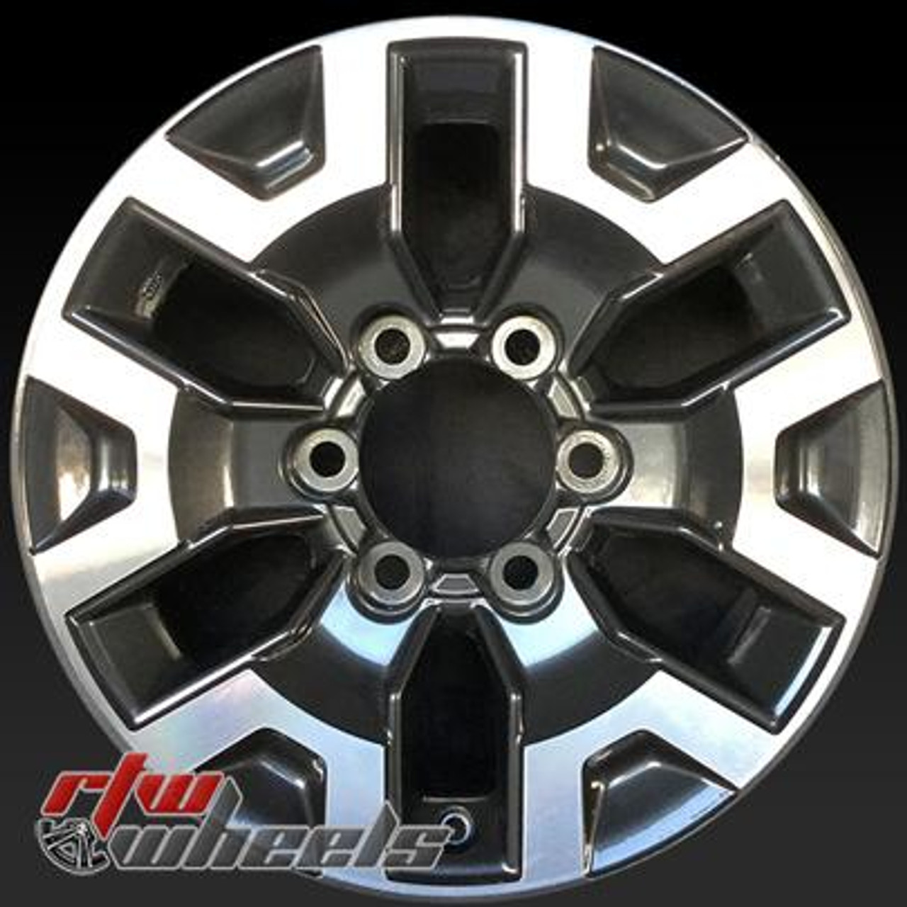 16 Toyota Tacoma Oem Wheels For Sale 2016 2017 Machined Stock Rims 75189
