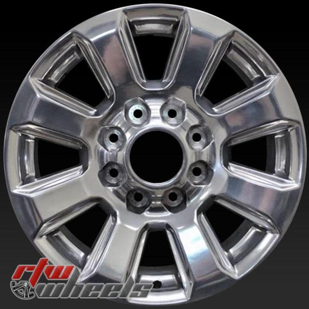 Ford F250 Wheels >> Ford F250 F350 Oem Wheels 2017 2018 20 Polished Rims 10102