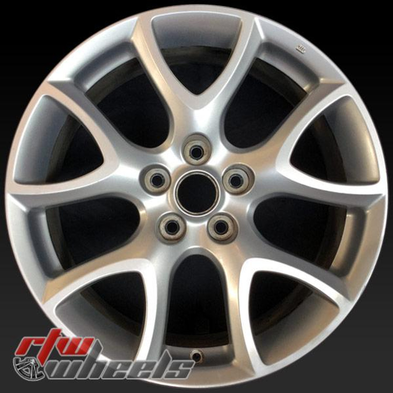 Mazda 3 Rims >> 18 Mazda 3 Oem Wheels For Sale 2010 2012 Silver Rims 64930