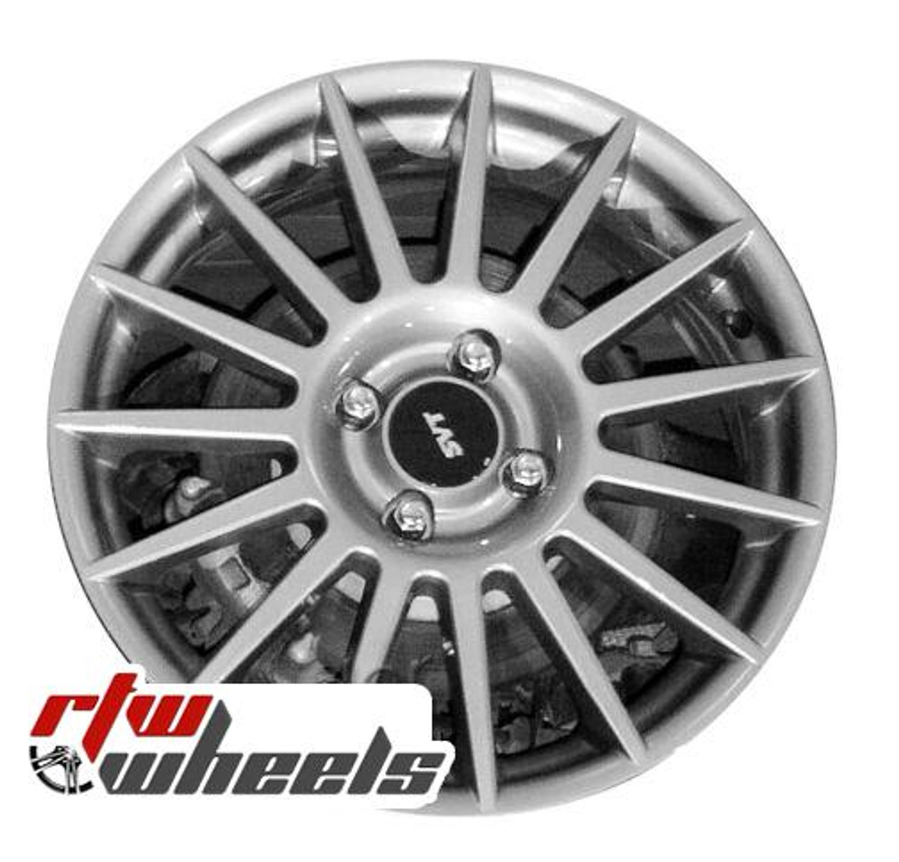 Ford Focus Wheels >> Ford Focus Wheels 2002 2011 17 Silver Rims 3507