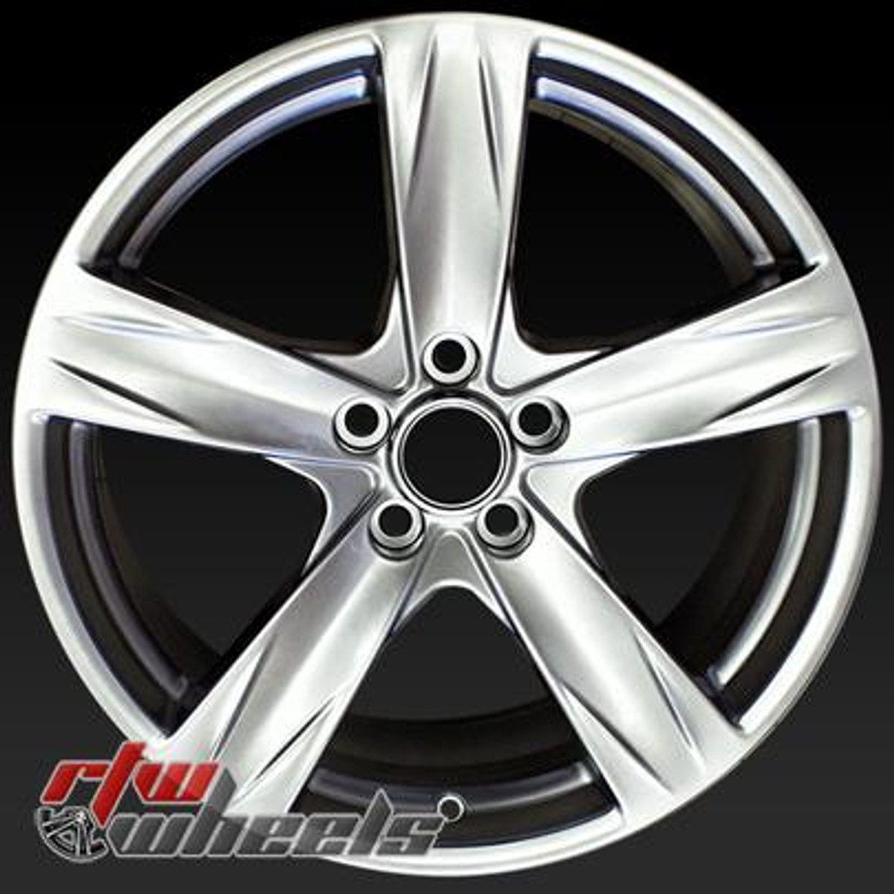 19 Ford Mustang Wheels For Sale 2013 2014 Hypersilver Rims 3910