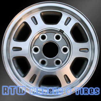 16 inch GMC Sierra  OEM wheels 5077 part# 09592564