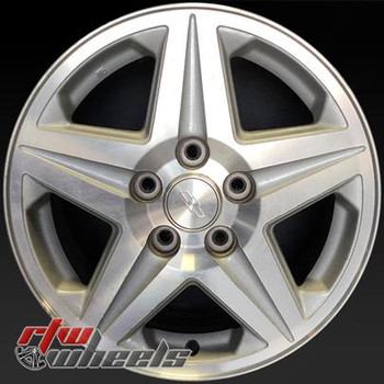 16 inch Chevy Monte Carlo  OEM wheels 5115 part# 12487571, DBP
