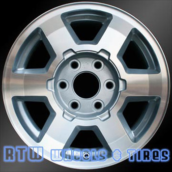 17 inch GMC Sierra  OEM wheels 5193 part# 09594491