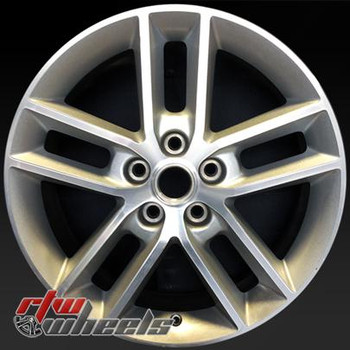 "Chevy Impala wheels for sale 2008-2015. 18"" Machined Silver rims 5333"