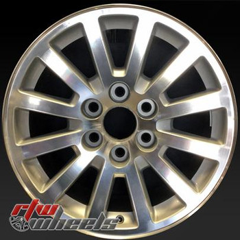 18 inch Chevy  Truck  OEM wheels 5355 part# 9597981
