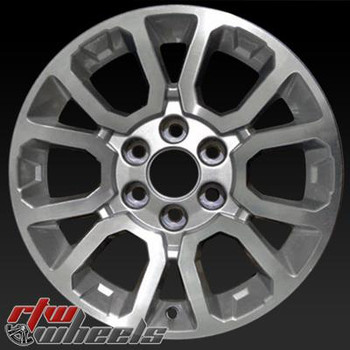 18 inch GMC Sierra  OEM wheels 5649 part# 22815067, AASD