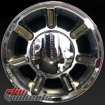 17 inch Hummer H2  OEM wheels 6301 part# 9596883