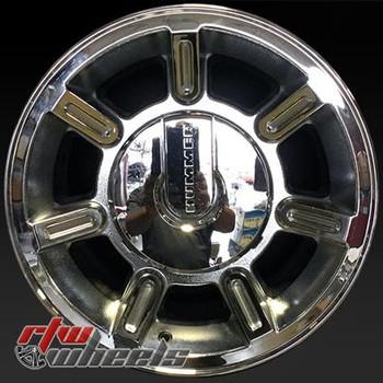 17 inch Hummer H2  OEM wheels 6301 part# 9596883