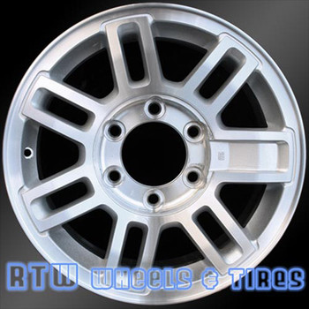 16 inch Hummer H3  OEM wheels 6304 part# 9598062