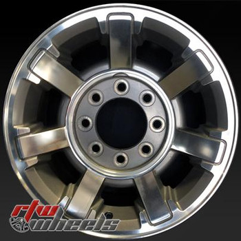 17 inch Hummer H2  OEM wheels 6309 part# 9596088