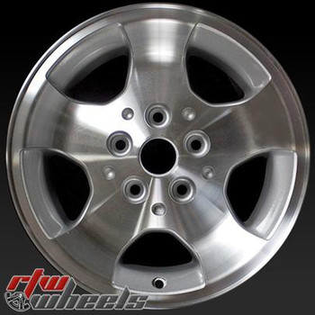 15 inch Jeep Wrangler  OEM wheels 9024 part# 5GC81TAEAA