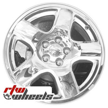 18 inch Jeep Compass  OEM wheels 9070 part# 05105473AA, 1AR01TRMA