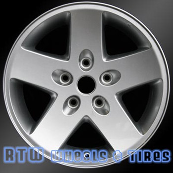 17 inch Jeep Wrangler  OEM wheels 9074 part# 1AH78TRMAD, 1AH78TRMAB