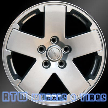 18 inch Jeep Wrangler  OEM wheels 9076 part# 1BB71TRMAB