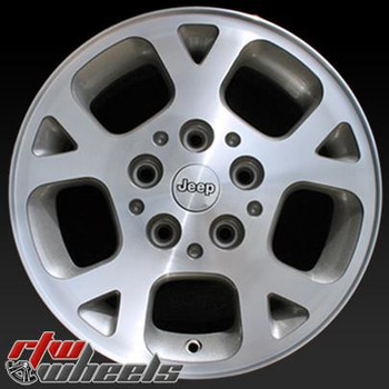 17 inch Jeep Commander  OEM wheels 9097 part# 5JS93TRMAA