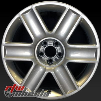 17 inch Audi TT  OEM wheels 58762 part# 8N0601025AAZ17,  8N0601025AA