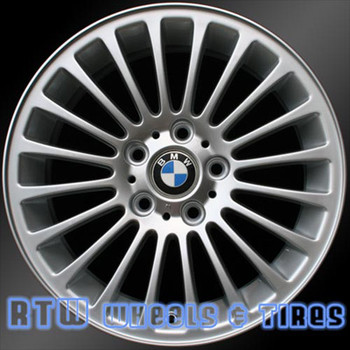 17 inch BMW 3 Series  OEM wheels 59343 part#  36116753816, 6753816