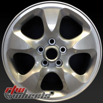 "Jaguar S Type wheels for sale 2000-2003. 16"" Sparkle Silver rims 59703"