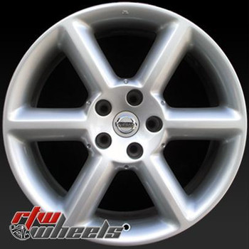 18 inch Nissan 350Z  OEM wheels 62417 part# 40300CD126, 40300CD128, 40300CD185