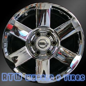 18 inch Nissan Armada  OEM wheels 62439 part# 403007S501