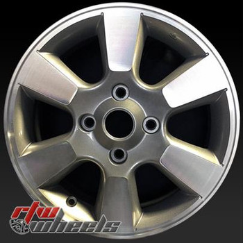 15 inch Nissan Versa  OEM wheels 62469 part# 907675446433