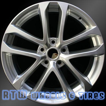 18 inch Nissan Altima  OEM wheels 62521 part# 40300ZN60A