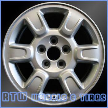 17 inch Honda Ridgeline  OEM wheels 63895 part# 7996374, 42700SJCA51ZB