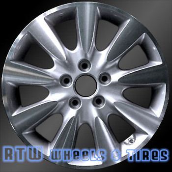 17 inch Honda Accord  OEM wheels 63919 part# 42700SDBJ01, 42700SDBK30, 42700SDBJ02