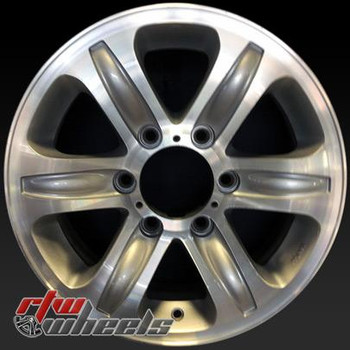 "Isuzu Rodeo wheels for sale 2000-2001. 16"" Machined Silver rims 64230"