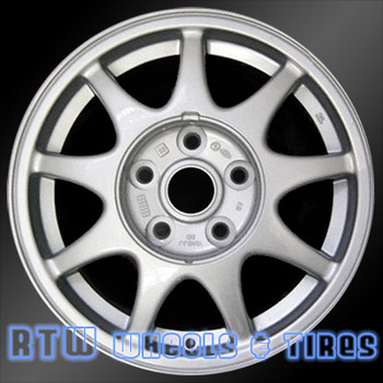 15 inch Mazda 929  OEM wheels 64749 part# 8BHM37600, 9965A86050