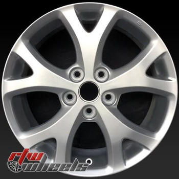 17 inch Mazda 3  OEM wheels 64895 part# 9965066570, 9965166570