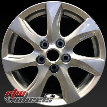 """Mazda 3 OEM wheels 2010-2011. 16"""" Silver stock rims 64927"""